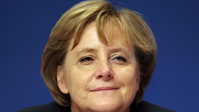 Procrastinators beware: there's a Tumblr page dedicated to hipster portraits of Angela Merkel.