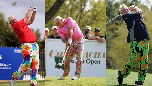 You can't have a worst dressed list in golf, or even the world, without including American John Daly. Those pants are almost as bad as his game these days.