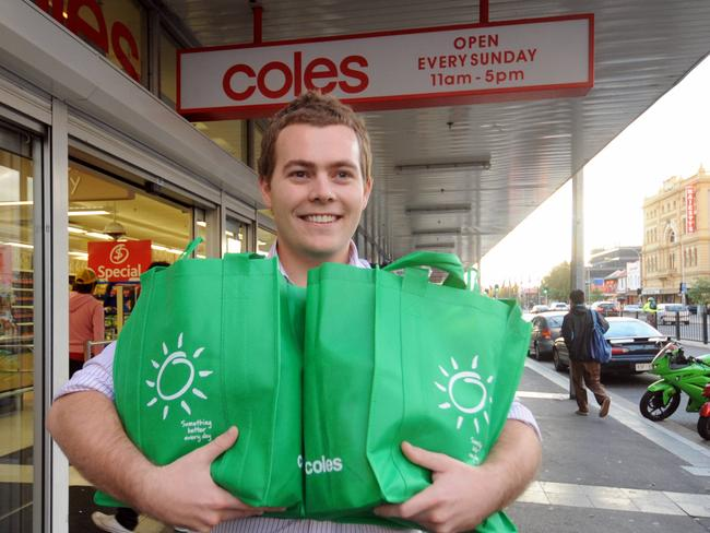 You have to use green bags 104 times to make it worthwhile from an environmental perspective.