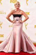 Jane Krakowski attends the 67th Annual Primetime Emmy Awards in Los Angeles. Picture: AP
