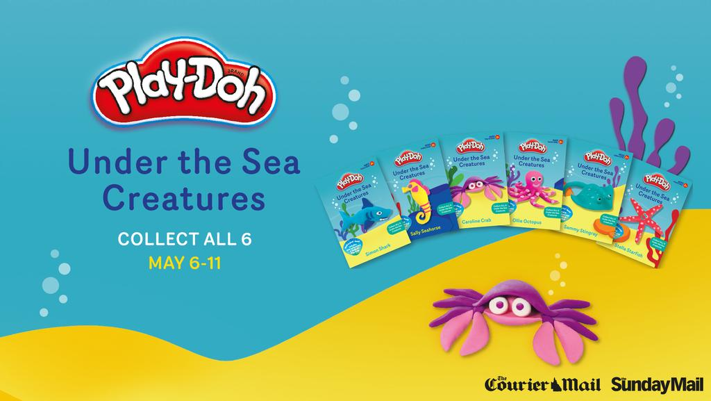 Play-Doh Under the Sea Creatures