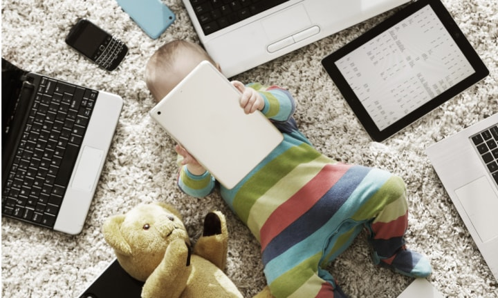 No screen time for under-2s? You have to be kidding
