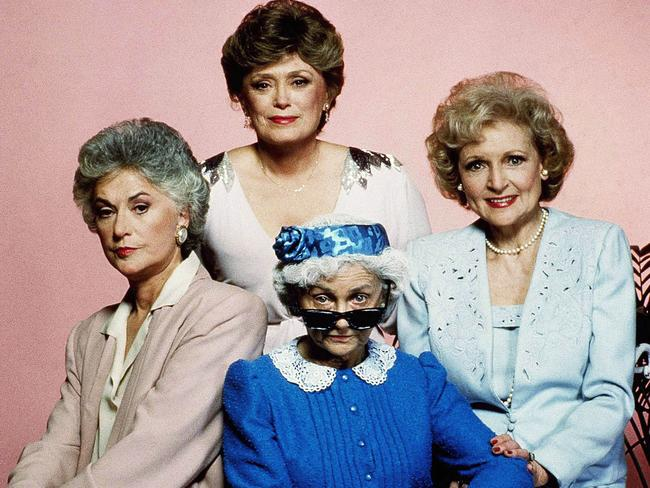 Bea Arthur, Rue McClanahan, Betty White and Estelle Getty were the Golden Girls.
