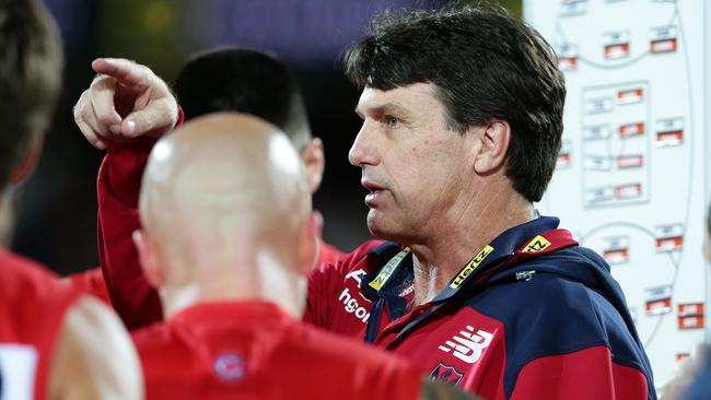 Melbourne have improved exponentially under Paul Roos this season. Picture: SARAH REED.