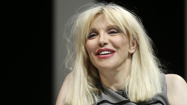 Rock chick ... Courtney Love turns 50 this week. (AP Photo/Lionel Cironneau)