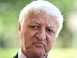 Independent MP Bob Katter speaks to the media as he arrives at the High Court in Canberra, Wednesday, Dec. 7, 2016. The High Court is holding a hearing into the eligibility of One Nation party Senator Rod Culleton. (AAP Image/Lukas Coch) NO ARCHIVING