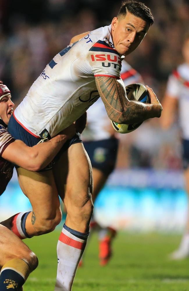 Can Sonny Bill Williams help the Roosters to another crack at a premiership? Pic: Mark Evans