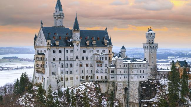 Bavaria's Neuschwanstein Castle in Hohenschwangau is incredible, but few travellers realise how far it is from Munich. Picture: iStock