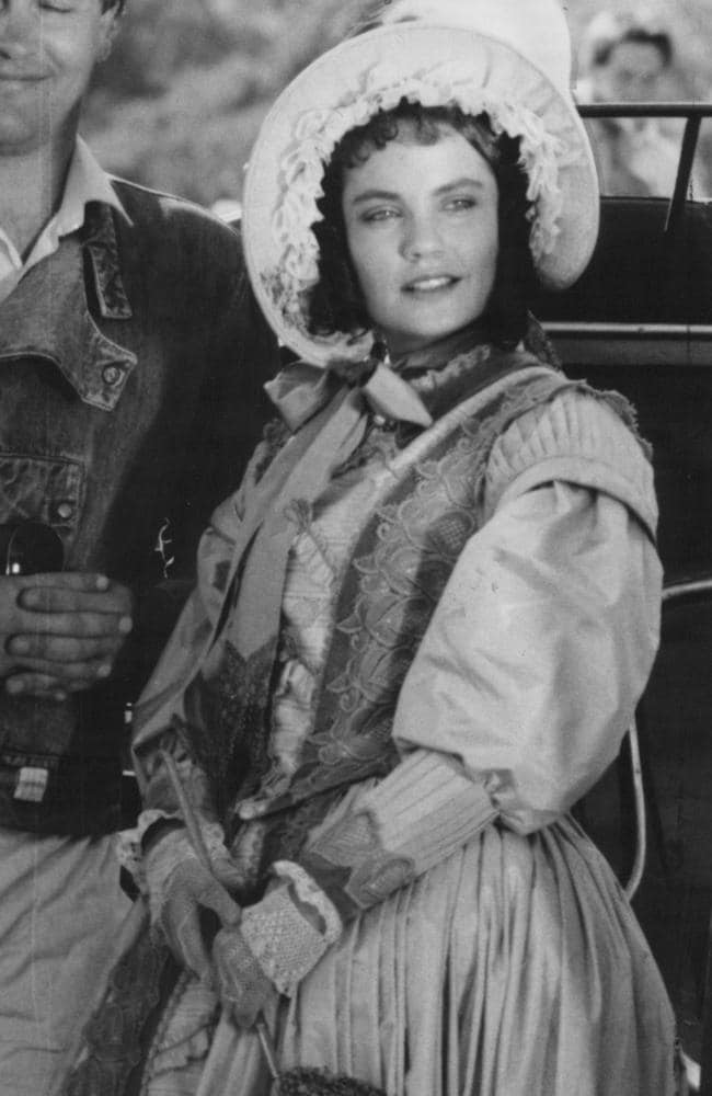Paradise found ... Thornton parlayed the international success of her Australian appearances in All The Rivers Run and The Man from Snowy River into a role on US television western, Paradise.