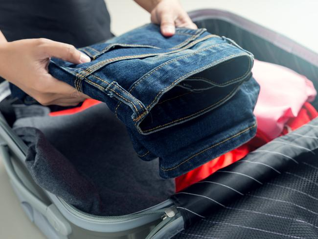 Let's be honest: if your bag has a lot of space to play with, you'll find something to fill the space with. Opt for a smaller bag. Picture: iStock