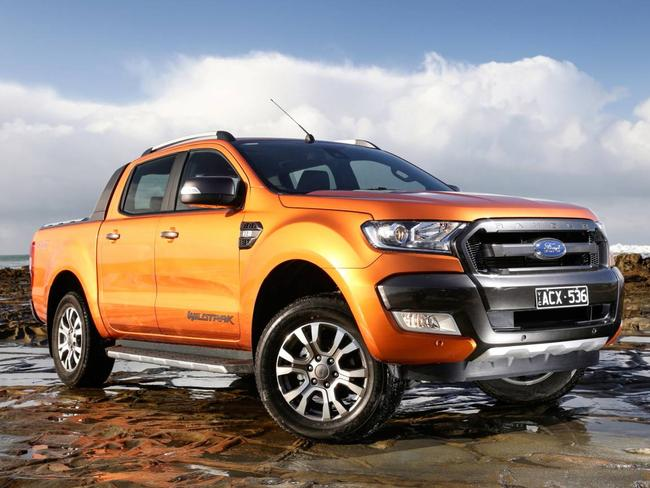 Popular option ... the latest 2015 Ford Ranger ute. Picture: Supplied