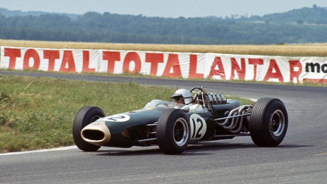 Brabham took a treble wins on his way to title No.3.