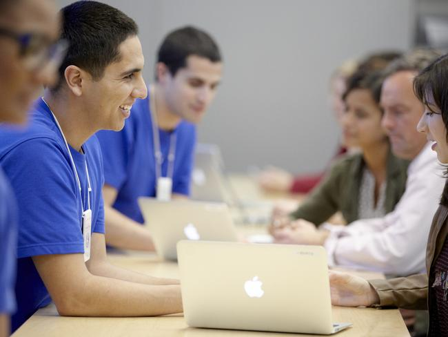 The Sydney Genius bar sees around 3,500 customers a week.