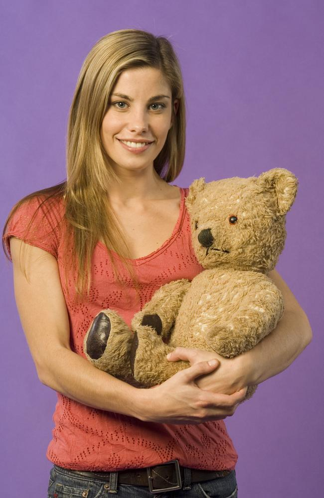 Brooke Satchwell as host of TV show 'Play School'