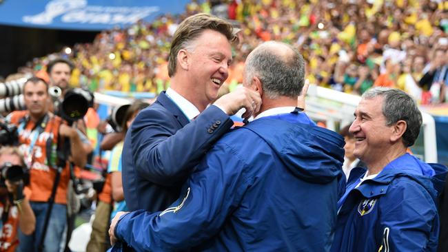 Netherlands' coach Louis van Gaal is off to Old Trafford. What now for Scolari?