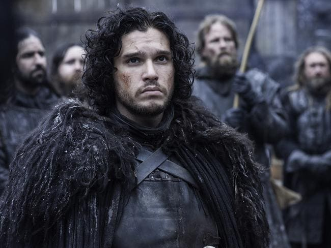 "Kit Harington says he doesn't understand the regular line, ""You know nothing Jon Snow""."