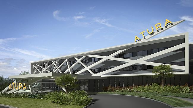 An artist impression of the hotel exterior. Picture: Supplied