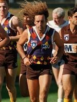 <p><span>Hawthorn 1995</span><br /> <span>Looked more suited to the first Tuesday in November than the last Saturday in September. This jumper is so awful that it became a sought-after collectors' item, and is burned into the mind of any Hawks player who was unfortunate enough to wear it that pre-season.</span></p>