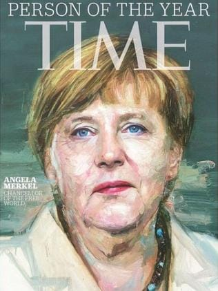 TIME magazine named Angela Merkel 2015 Person of the Year. Picture: TIME