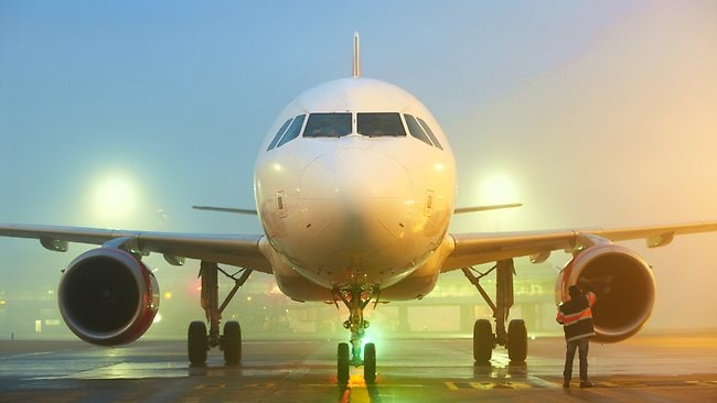 Airport in fog. Picture: Thinkstock