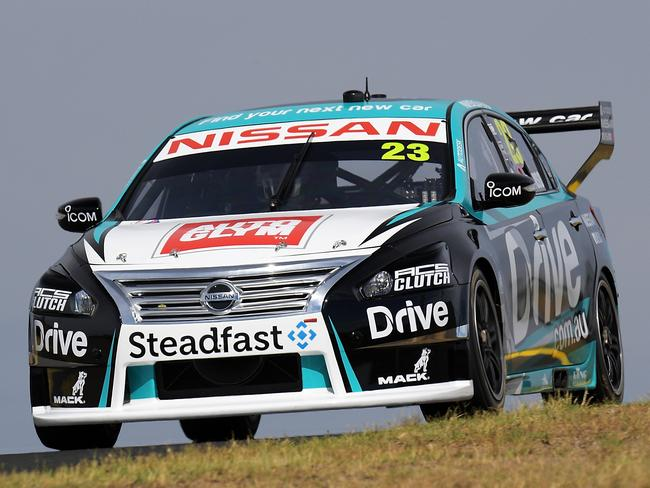 Caruso finished third in his new-look Altima.