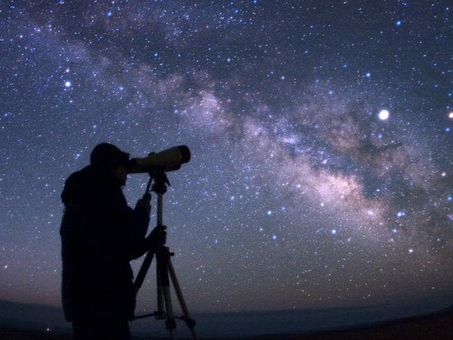 Could an alien civilisation be out there? Picture: Astronomy in the Park