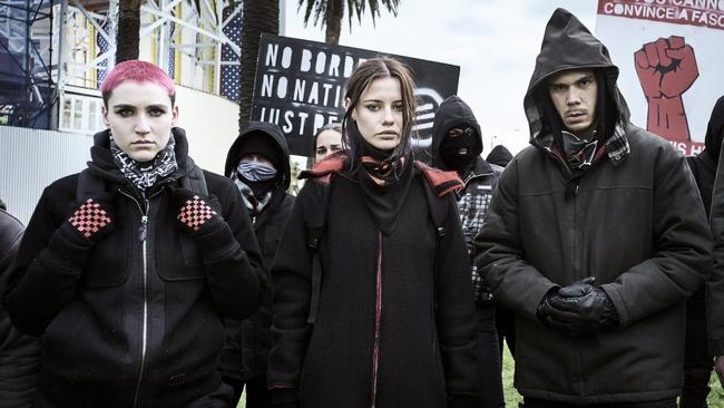 Romper Stomper looks at extremism on both sides Picture: Ben King