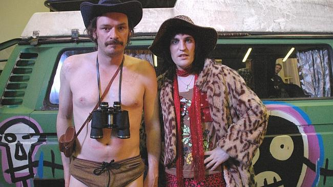 Julian Barratt and Noel Fielding in The Mighty Boosh. Our lifestyle editor prefers a nice crime drama, thank you very much.