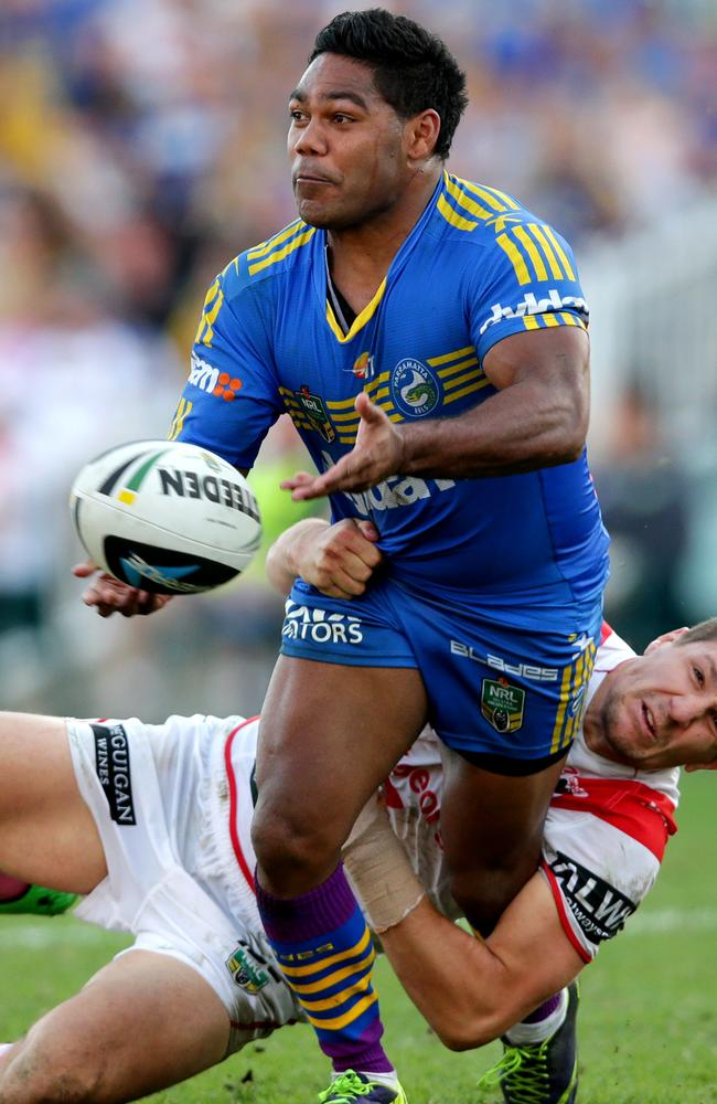 Chris Sandow has been a standout for Parramatta since returning in round four.