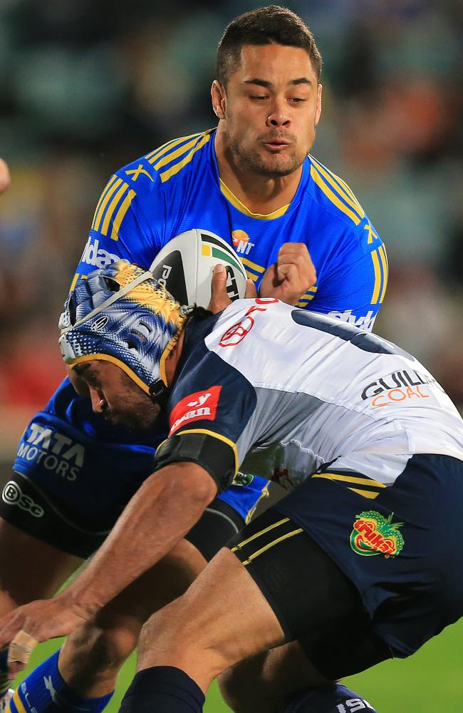 Jonathan Thurston must have got sick of the sight of Jarryd Hayne in recent weeks.