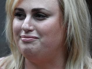 Rebel Wilson leaves the Supreme Court in Melbourne, Monday, May 22, 2017. Wilson is suing Bauer Media for publishing articles that painted her as a serial liar. (AAP Image/Julian Smith) NO ARCHIVING