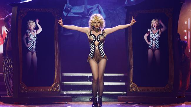 Britney Spears is currently performing in Las Vegas.