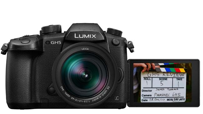 Panasonic is pitching its GH5 as a camera designed to shoot video.
