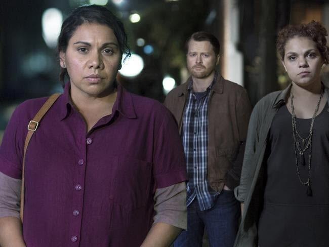 Deborah Mailman in Redfern Now. She has been nominated for a Logie for this role.