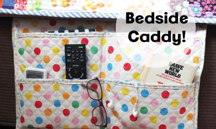 Craft tutorial: the amazing gadget-gathering bedside caddy