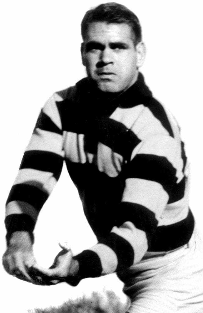 Geelong champion Graham 'Polly' Farmer.