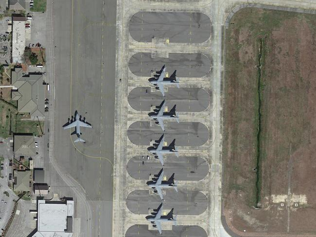 Charleston International Airport, US. Picture: Lauren O'Neil