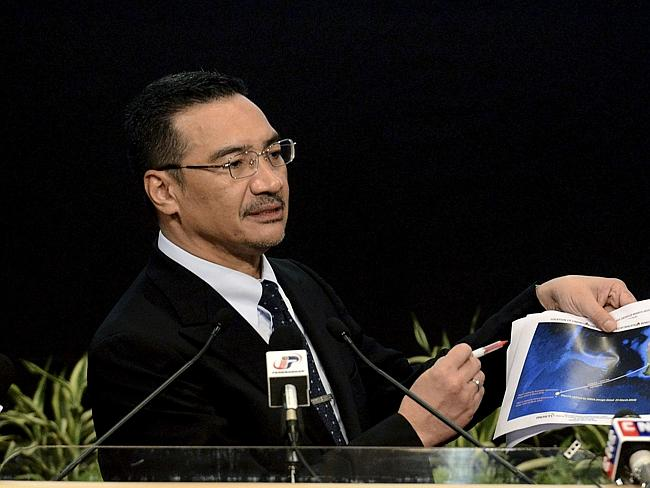 Public face ... Malaysia's Defense Minister and acting Transport Minister Hishammuddin Hussein has been at the forefront of the nation's response to the missing plane.