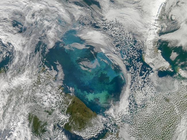 The Barents Sea. Picture: NASA Goddard Space Flight Center