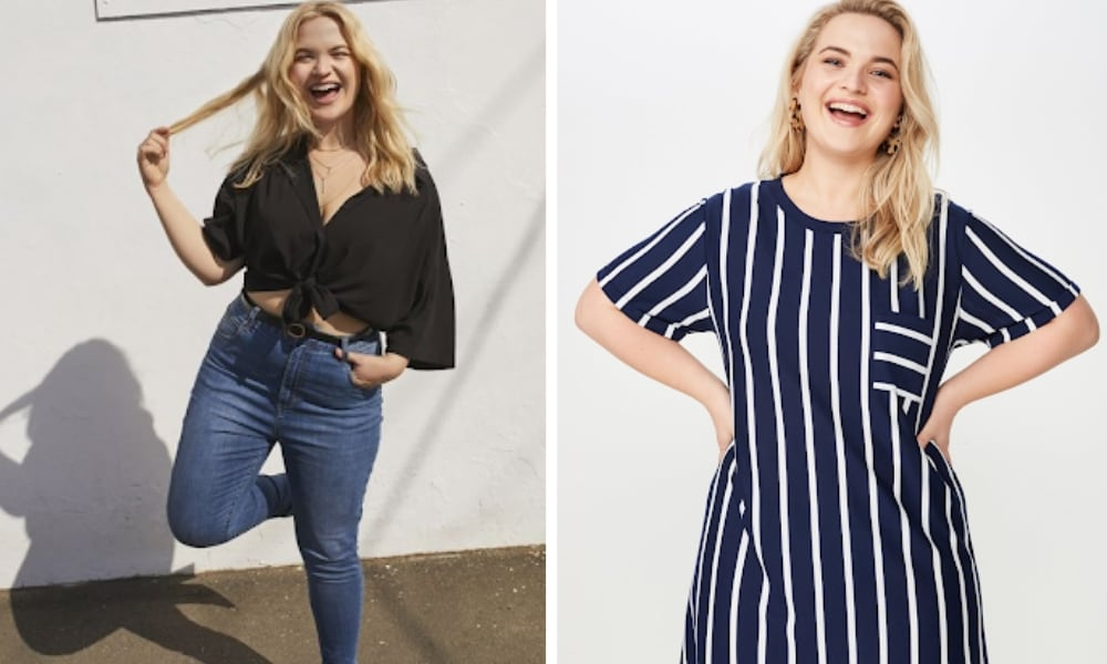 Cotton On's new plus size range has women divided