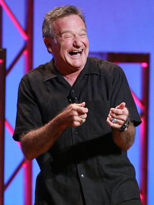 Robin Williams performing his stand-up show in NY.