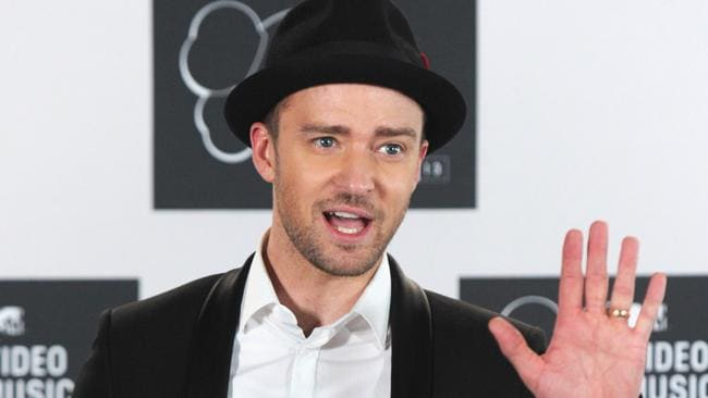 Pop star Justin Timberlake. Photo: Getty