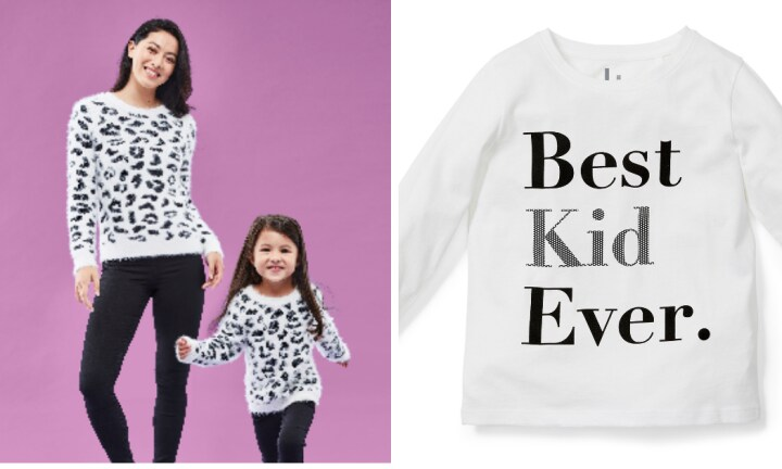 Big W's twinning range is too cute for Mother's Day