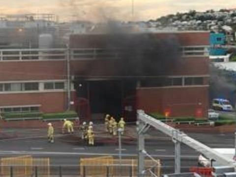 Fire at XXXX brewery causes traffic chaos