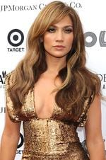 <p>Sultry ... Jennifer Lopez arrives at the Apollo Theatre for the Spring 2010 Benefit Concert and Awards Ceremony, honouring Aretha Franklin and the late Michael Jackson, on Monday, June 14, 2010, in New York. (AP Photo/Louis Lanzano)</p>