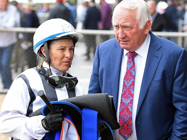 Trainer Leon Macdonald won't have the services of his trusty jockey Clare Lindop this weekend as she will be in Brisbane for the Origin Jockeys Series.