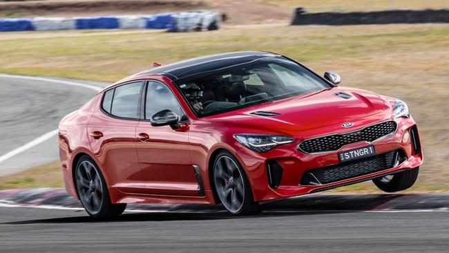 Turbo grunt: Kia Stinger. Pic: Supplied.