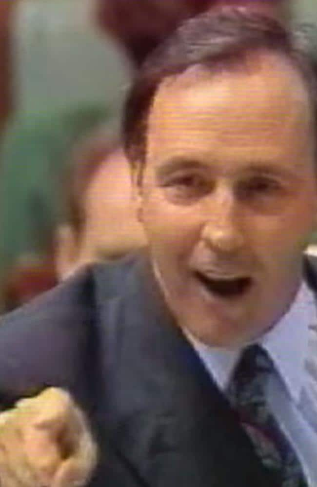 Paul Keating in full flight during Question Time -- named in this top 10 by a former Coalition advisor.