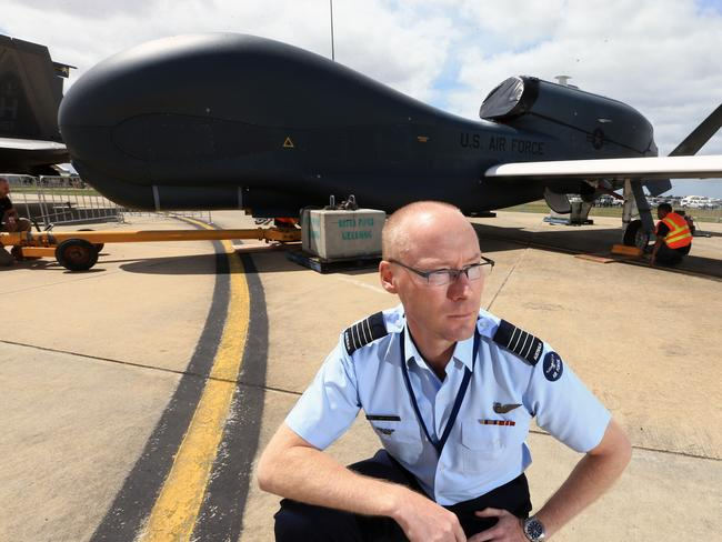 War Drones RAAF Group Captain Guy Adams Director Of Unmanned Aerial Systems