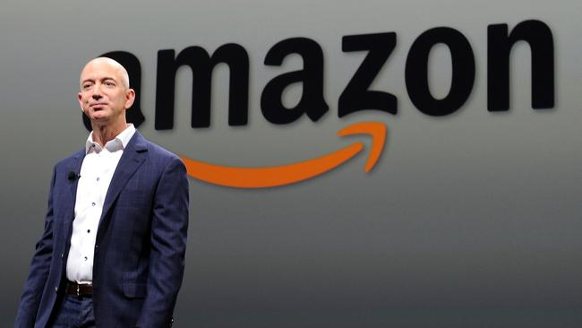 Amazon CEO Jeff Bezos pushes his employees to their absolute limits. But is he really getting the best out of them? Picture: AFP /Joe Klamar
